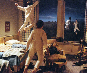 peter pan, fly, and children image