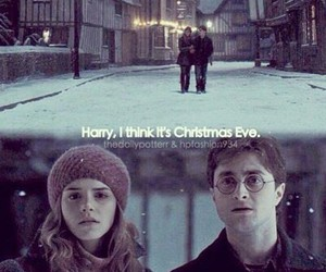 beautiful, christmas, and harry potter image