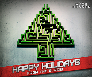 happy holidays, the maze runner, and maze runner image