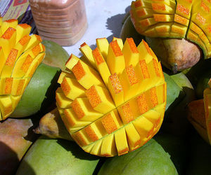 food, mango, and fruit image