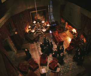 gryffindor, hogwarts, and common room image
