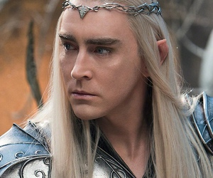 thranduil, lee pace, and hobbit image