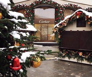 cartier, winter, and christmas image