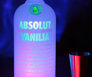 absolut, booze, and ice image