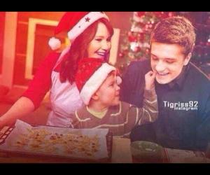 christmas, family, and Jennifer Lawrence image
