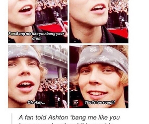 5 seconds of summer and ashton irwin image