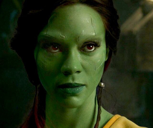 guardians of the galaxy and gamora image