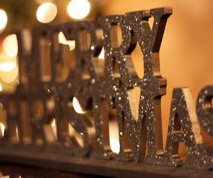 christmas, merry christmas, and glitter image