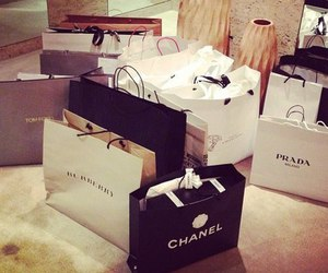 bags, chanel, and Prada image
