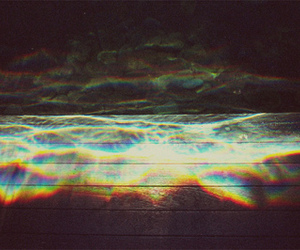 dark, water, and colorful image
