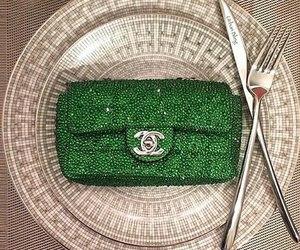chanel, green, and bag image