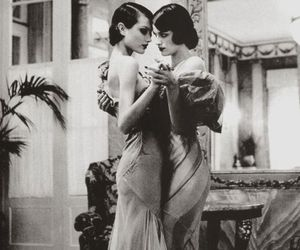 vintage, dance, and black and white image