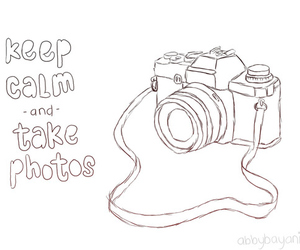 photo, camera, and keep calm image