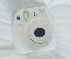 camera, filter, and poloroid image