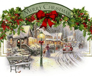 beautiful, christmas, and merry christmas image