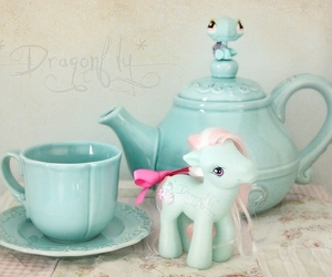 cute, blue, and my little pony image