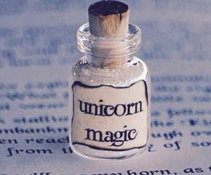 unicorn, magic, and glitter image