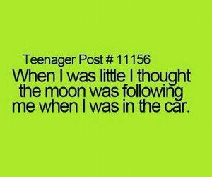 moon, car, and true image
