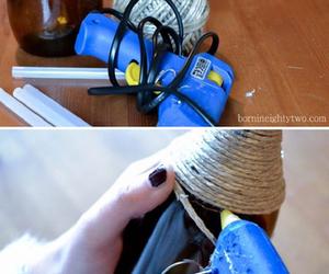 diy, glue, and bottle image