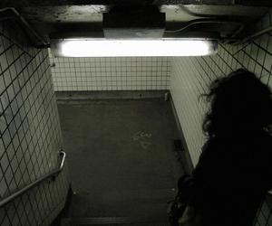 grunge, dark, and light image