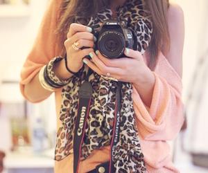 camera, canon, and fashion image