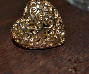 heart, ring, and accesory image