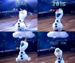 frozen, happy new year, and january image