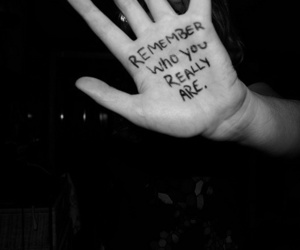 remember, hand, and text image