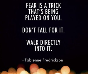 quote, fear, and life image