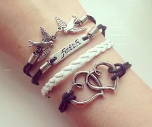bracelet, love, and faith image