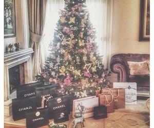 christmas, luxury, and chanel image