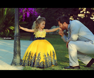 cute, beautiful, and dad image