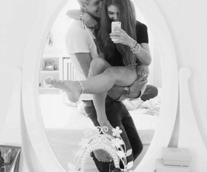 couple, love, and selfie image