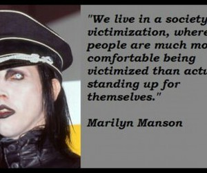 comfortable, manson, and marilyn image