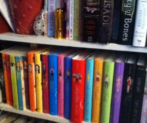 books, series, and vicious image