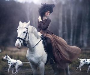 horse, dog, and fairytale image