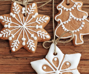 Cookies, pine, and merry image