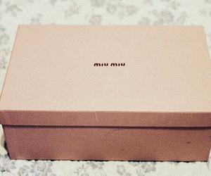 miu miu, fashion, and box image