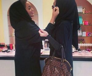 beauty, hijab, and sisters image