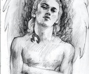 beautiful, Jamie Campbell Bower, and draw image