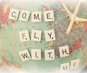 fly, travel, and world image