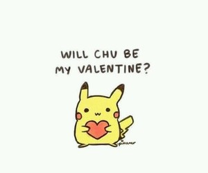 cute, valentine, and heart image