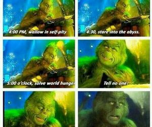 funny, grinch, and the grinch image