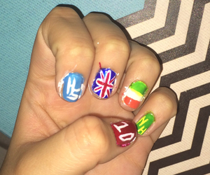 british, irish, and nails image