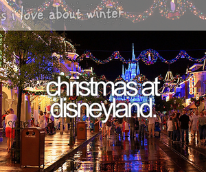 christmas, disneyland, and bucket list image