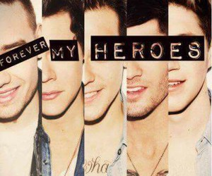 one direction, heroes, and zayn malik image