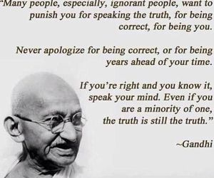 inspirational, quote, and gandhi image