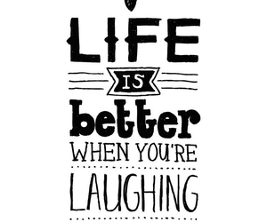 life, quote, and smile image