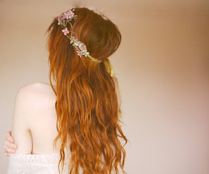 beautiful, hairstyle, and long hair image
