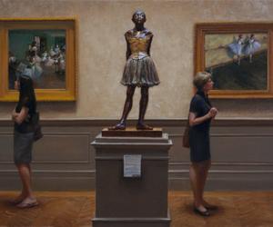 art, edgar degas, and fashion image